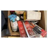 BOX W/ NEW EVAPORATIVE COOLER  PUMP, LANTERN STAND