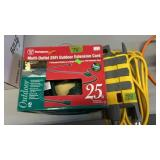2 MULTI OUTLET ELECTRIC EXTENSION CORDS