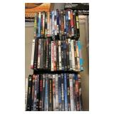 3 BOXES OF DVD MOVIES
