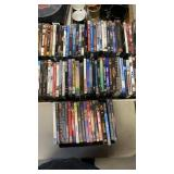 5 BOXES OF DVD MOVIES
