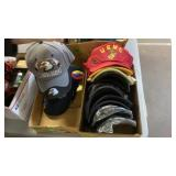2 BOXES OF MISC. HATS