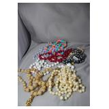 Lot of Vintage Beaded Jewelry