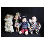 Lot of Vintage Dolls