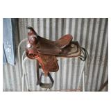 Great Kids Saddle w/ Lots of Bling