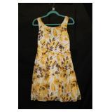Size M Yellow Dress