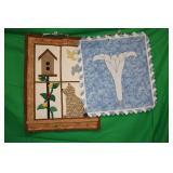 2 Quilt Pieces
