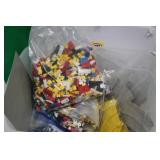 Large Lot of Lego w/ Track
