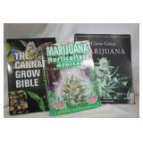 How to Grow Marijuana 3 Books