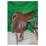 """Borelli 17"""" English Saddle"""