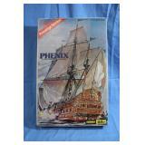 Aurora Heller Phenix Prestige Series Ship Model