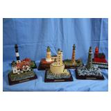 Great Collection of Collectable LightHouse Statues