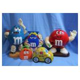 Lot of Great M & M Dispensers