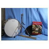 GP Drum Stand Case Practice Pad Sticks