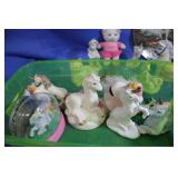 Lot of Unicorn Collectibles Collector Plate