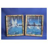 Beautiful Framed Prints w/  Decorative Frame