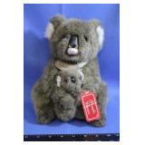 Russ Stuffed Koala Bear w/ Baby Koala