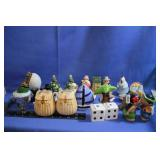 Lot of Collectable Salt and Pepper Shakers