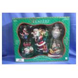 Lumiere Glass Christmas Ornaments