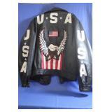 Interstate Leather USA  Eagle America Jacket