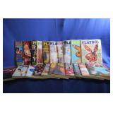Lot of Vintage Playboy Magazines 1977 plus