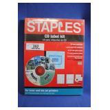 CD Label Kit NIP