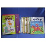 Lot of Great Learn to Draw Books and Kit