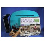Lot of Misc. Arena Exercises Lap Desk Notebooks