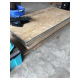 Large Lot of Sheets of Plywood Partical Board