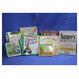 Lot of Books Herbs Cookbooks Natural Medicine