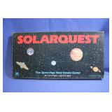 Vintage Solarquest Game 1986 Boardgame
