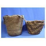 Vintage Native Woven Baskets Cedar Berry Basket