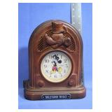 "Hollywood Mickey Mouse Clock ""Works"" Seiko"