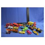 Lot of 25 Vintage Hot Wheels and Other Cars