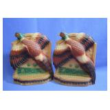Vintage Pheasant Bookends