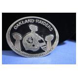 Oakland Raiders Belt Buckle