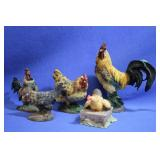 Lot of Chicken Collectables