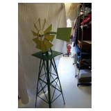 Yard Windmill New Paint