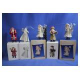 Vintage Hallmark Collector Santas