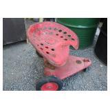 Vintage Tractor Seat Garden Seat