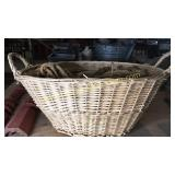 Large basket of rope