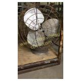 Large vintage metal fan 26in