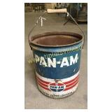Vintage Pan-Am 5gal can