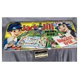 Vintage jack and Jill metal paint box