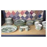 8 place setting of the old curiosity shop dishes