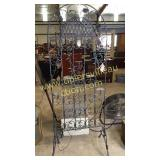 Metal Art candle stand 6ft tall
