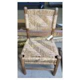 Pine woven chair