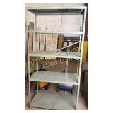 Industrial metal shelving 3x6ft