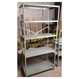 Metal industrial shelf 3x6ft