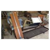 Group of furniture parts & chair frames