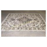 Mohawk Gray and brown 8x10 area rug nice neutrals
